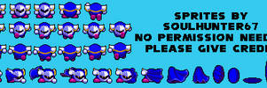 Meta Knight custom sprites by SoulHunter67 by SoulHunter67