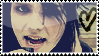 Gerard Way stamp by alyssinelysium
