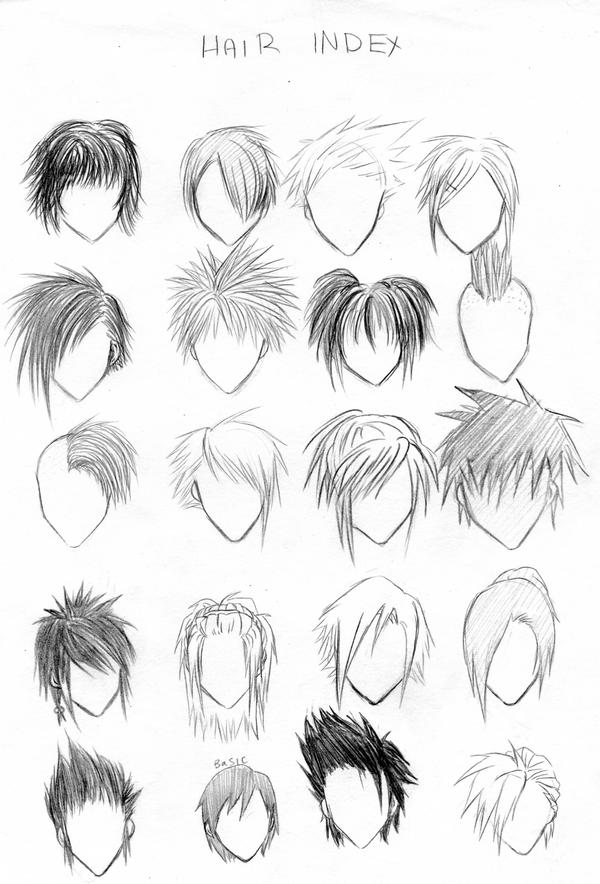 Punk S Anime And Manga And Videogames Manga Hair