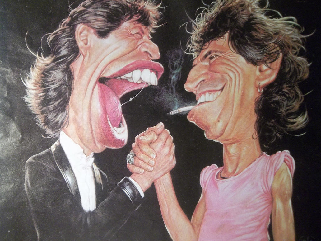 the rolling stones by chilica