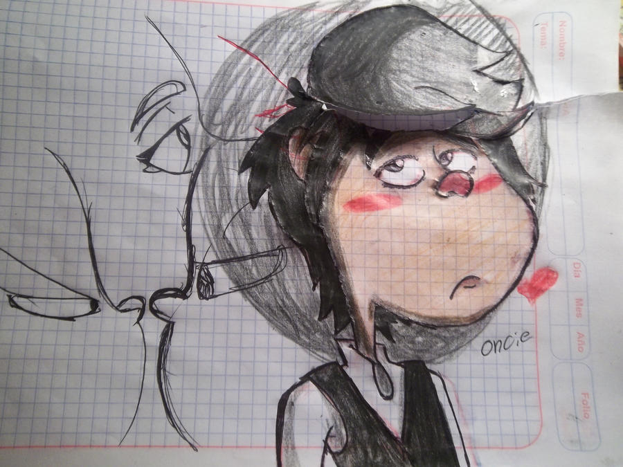 oncie...sad by chilica