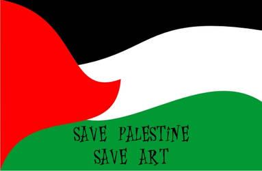 Save Palestine by JuNoDa