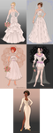 W.I.T.C.H as Brides by katerinaaqu