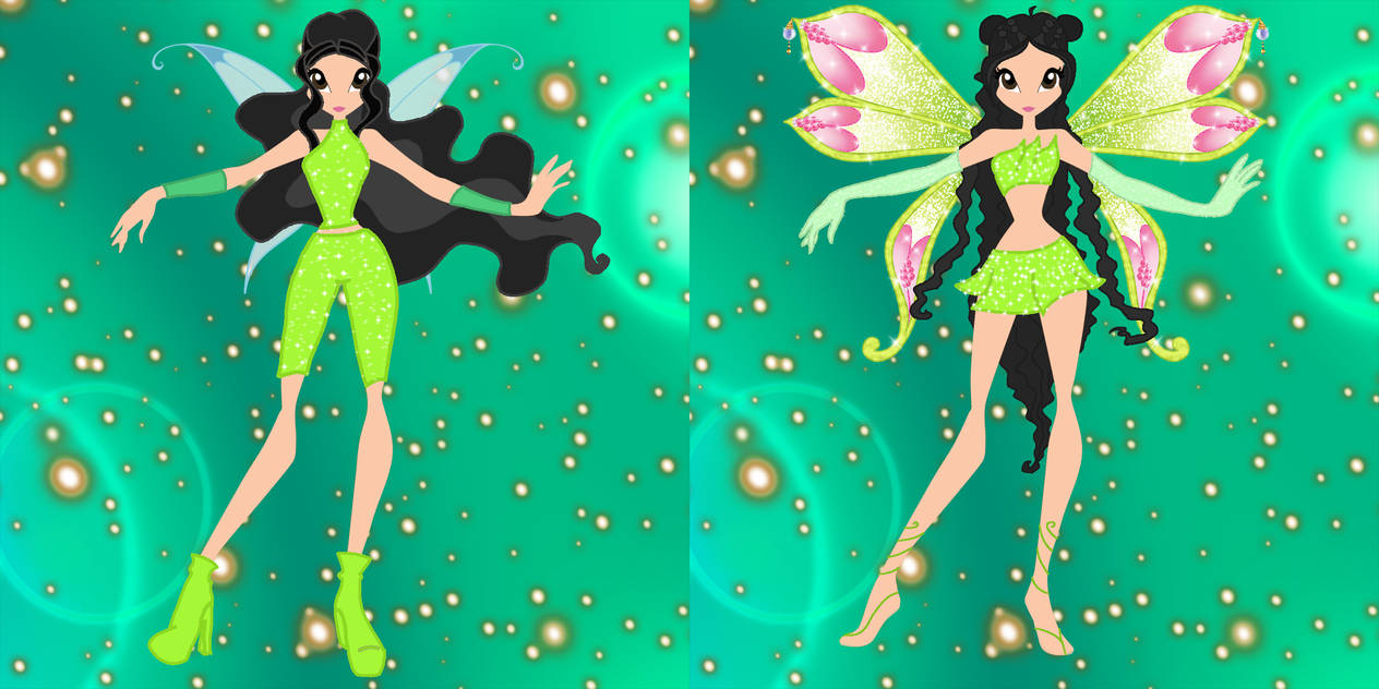 Jane Winx (Normal and Enchantix)