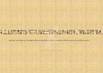 Non-Royal Funerary Formula (Yu-Gi-Oh Style - Seto) by katerinaaqu