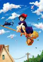 Kikis Delivery Service by DanySoul
