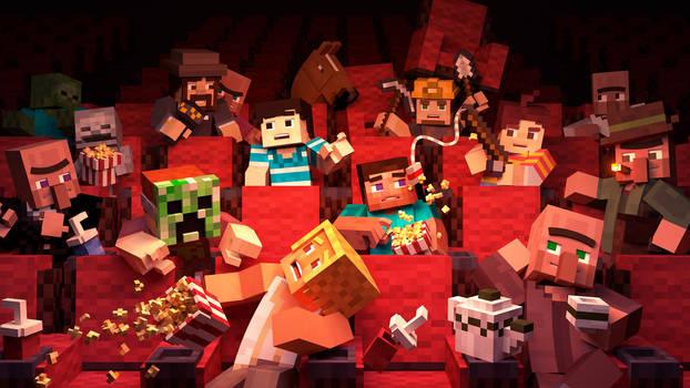 Cinema in Minecraft