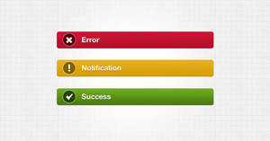 NOTIFICATION BAR WEB ELEMENTS