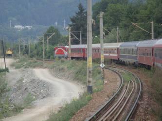 Train in Curve 3 by MaTtRuLLz