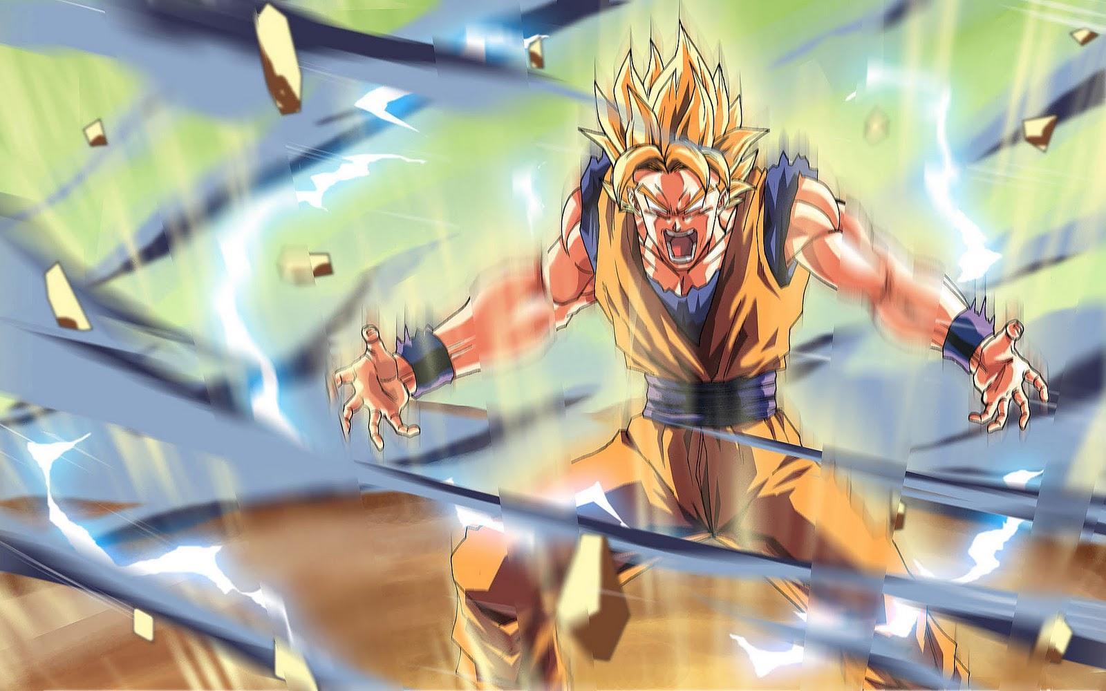 Dragonball Z Wallpaper Power Of Super Saiyan By Yasinargu On
