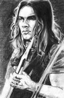 David Gilmour by Monose