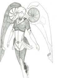 Karakuri Comatose - Valkirie's Wings by Baydo00