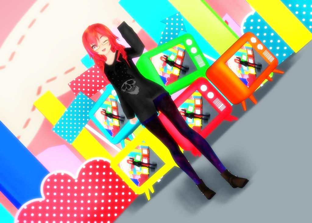 : : D a r e K o r e ? : : by LapisAoki-Chan
