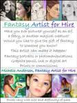 fantasy artist for hire