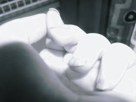The Statue's Hand by Semety