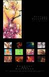 Fractal Art Calendar 2011