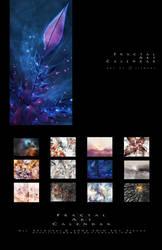 Fractal Art Calendar 2012 by silwenka