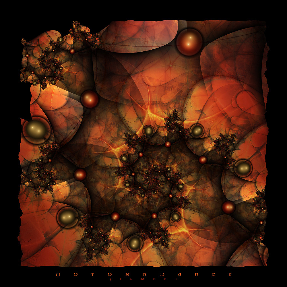 autumn fractals art