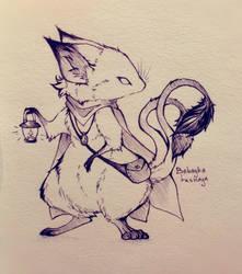 Inktober 2020 6.Rodent