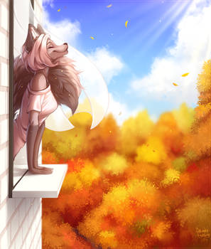 Autumn wind | YCH Comm