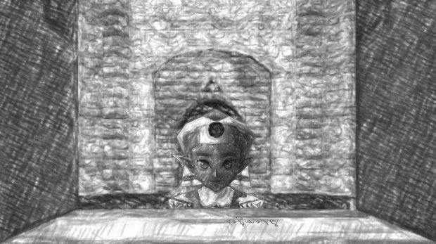 Peekaboo Zelda by SiamJai