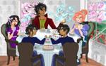 Tea time by Hensku