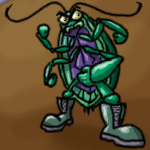 Filthy Attack Roach by ozwalled