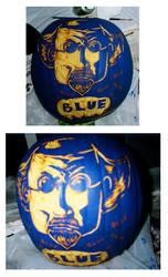 BLUE BLUE Pumpkin by ozwalled