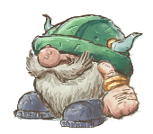 Grenadine the Dwarf by ozwalled