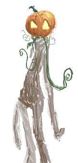 Pumpkingirl by ozwalled