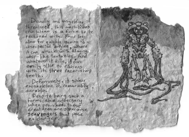Inktober book sample by ozwalled