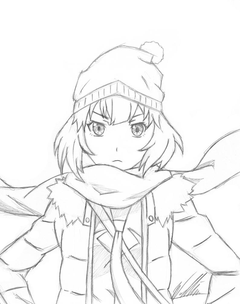 Hitagi Snow Crab by XemnasKH13