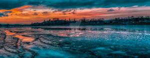 Ptuj castle sunset version 2