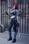 Katarina cosplay by Ynotece