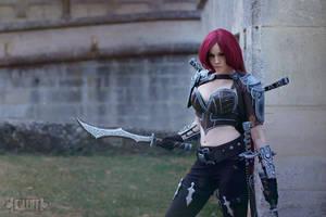 Katarina cosplay by Ynotece by YnoteceCosplay