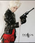 Dogs - Haine Vinyl outfit by marinecosplaybr