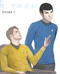 Art trade - Spirk - Not in the bridge, Captain by marinecosplaybr