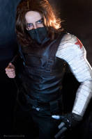 COSPLAY - Winter Soldier V by marinecosplaybr