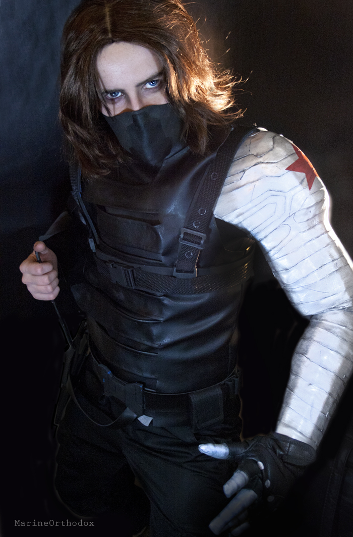COSPLAY - Winter Soldier V by MarineOrthodoxWinter Soldier Cosplay Wondercon 2014