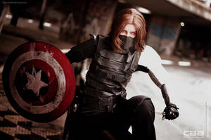 COSPLAY - Winter Soldier CAACOSPLAY X by marinecosplaybr