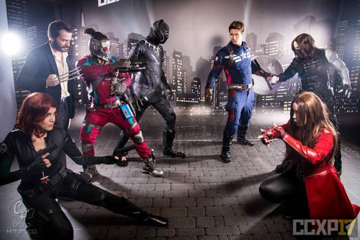 COSPLAY - Marvel Group II