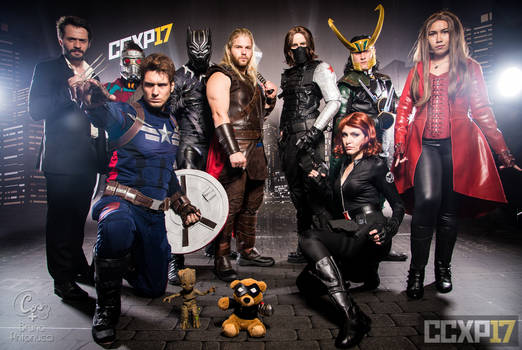 COSPLAY - Marvel Group I