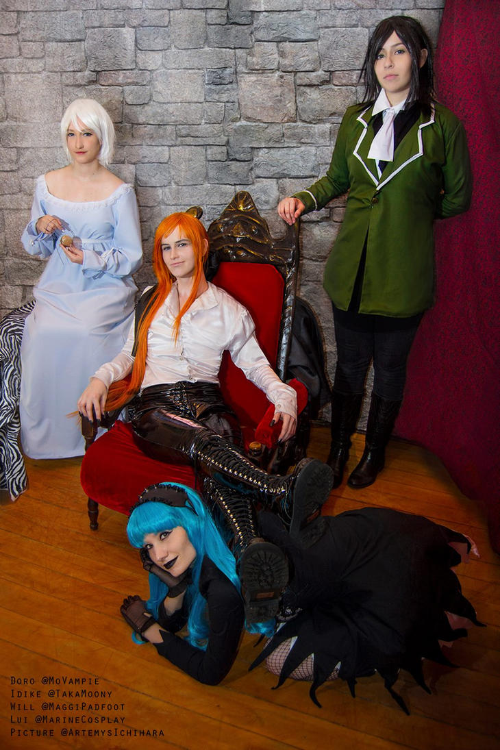 COSPLAY - Ludwig Kakumei group - One happy family by marinecosplaybr
