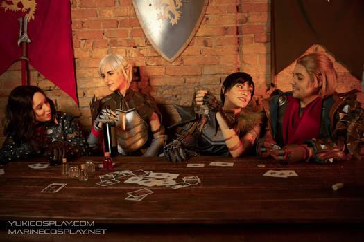 [COSPLAY] Dragon age tavern - Dragon Age 2 dorks