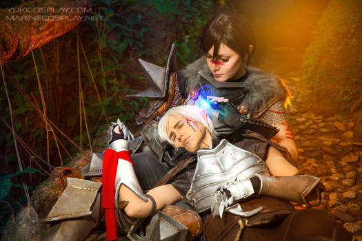 [COSPLAY] Dragon age 2 - Fenhawke hurt and confort