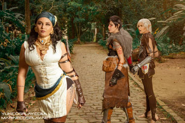 [COSPLAY] Dragon age 2 party - The meme by marinecosplaybr