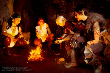 [COSPLAY] Dragon age group - By the fire