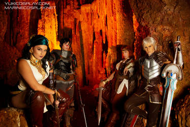 [COSPLAY] Dragon Age 2 group - Deep roads by marinecosplaybr