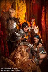 [COSPLAY] Dragon age tavern - Dragon Age 2