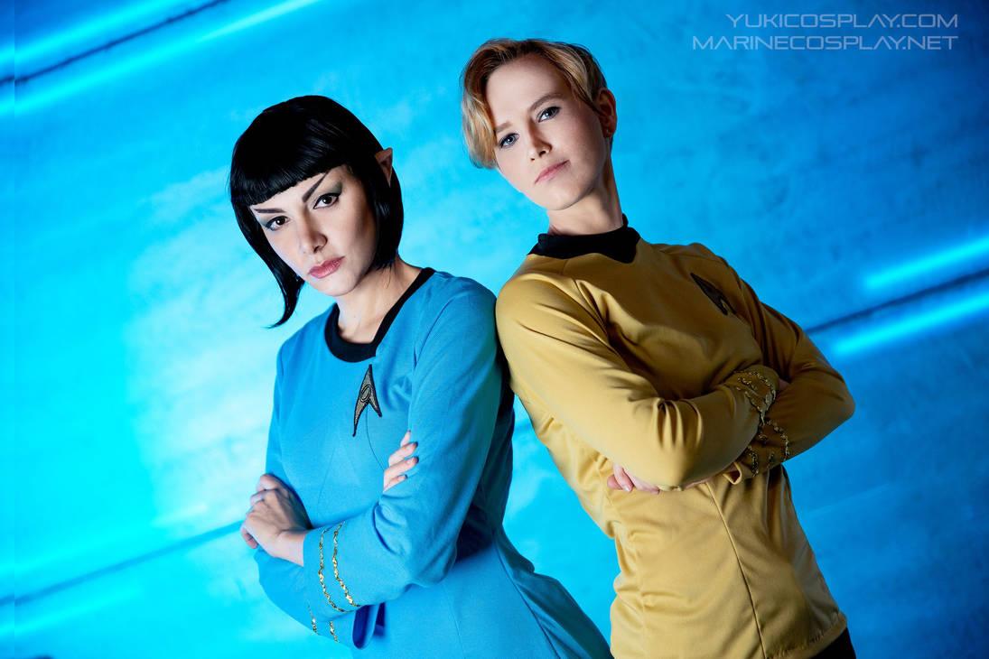[COSPLAY] Star trek - Spirk genderbend IV by marinecosplaybr